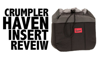 Crumpler Haven Insert for DSLR Camera Review | Traveling with a DSLR Camera | Looking for the Perfect Travel Backpack.