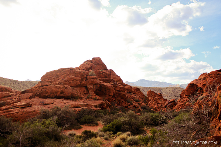 Crag Landmark on Red Springs Loop or Calico Loop | Red Rock Canyon National Conservation Area