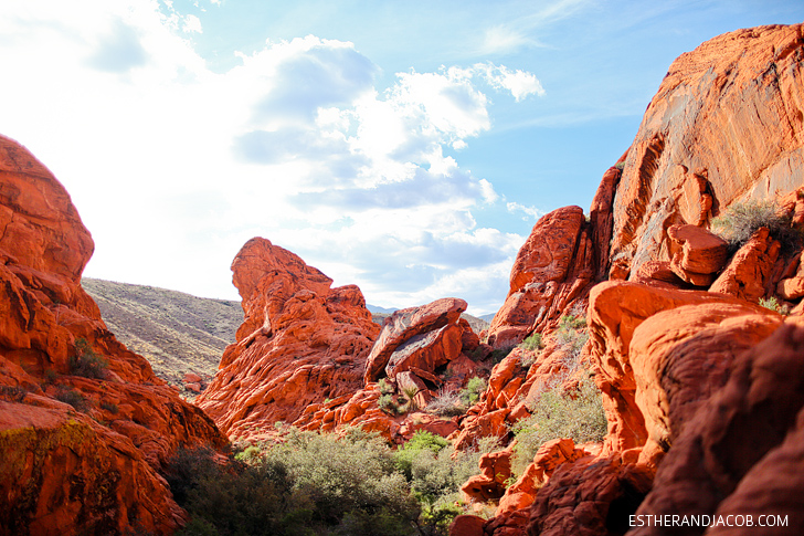 Second Crag Landmark on Red Springs Loop or Calico Loop | Red Rock Canyon National Conservation Area