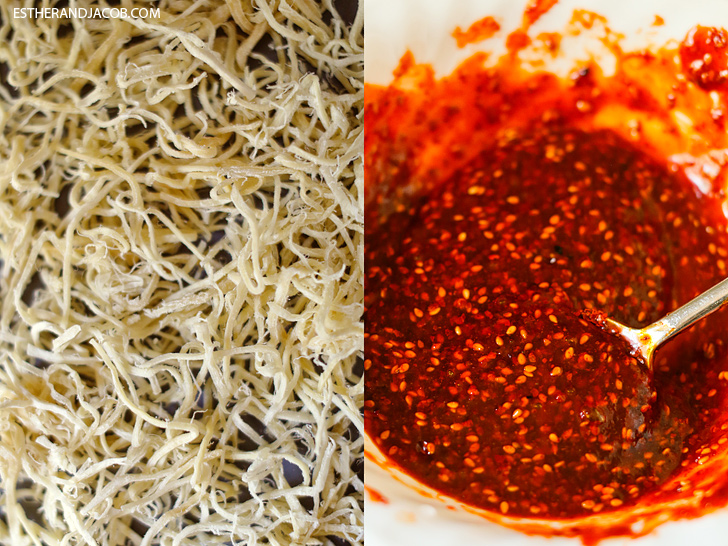 Korean Dried Squid Recipe // Korean Banchan Recipes // South Korean Food Recipes.