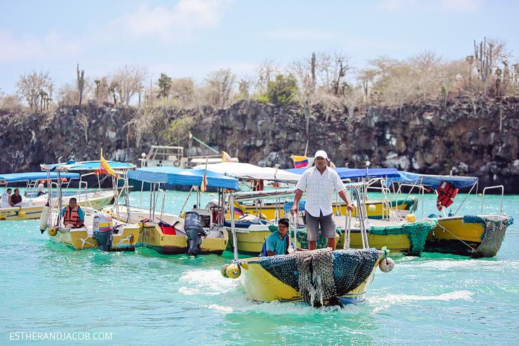 Puerto Ayora Pier | Things to Do in Santa Cruz Island Galapagos.