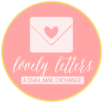 {Announcement} Lovely Letters // A Snail Mail Exchange