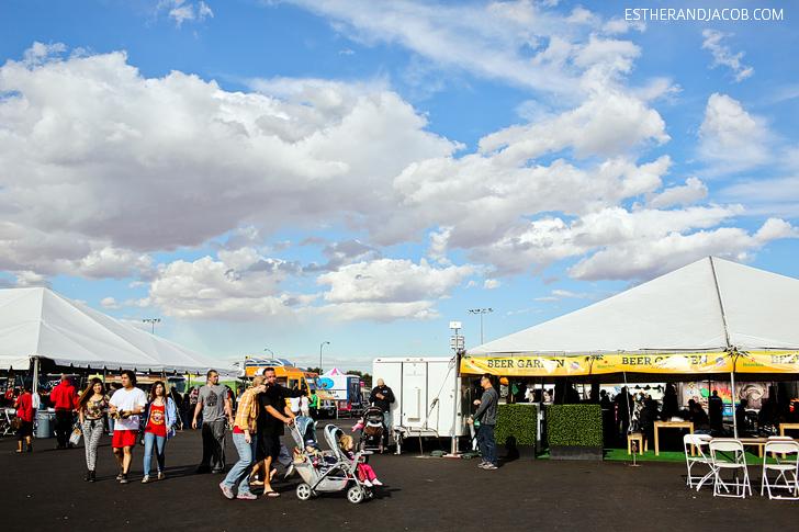 Foodie Fest Las Vegas Beer Garden | Las Vegas Food Trucks Festival.
