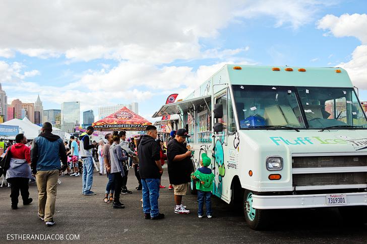Fluff Ice Truck Las Vegas Foodie Fest 2014 | Food Trucks Las Vegas.