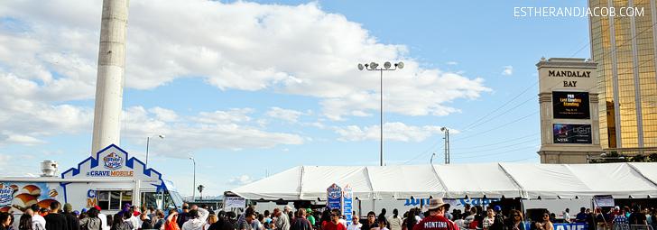 White Castle Crave Mobile | Las Vegas Foodie Fest 2014 | Las Vegas Food Trucks Festival.