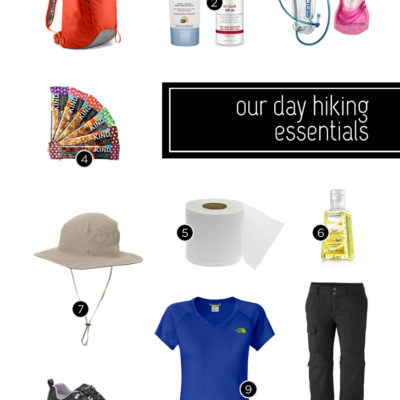 Day Hike Checklist | What's In My Bag: Our Day Hiking Essentials.