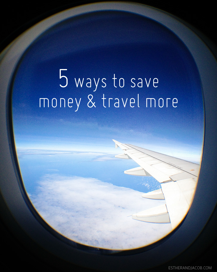 5 simple ways to save money | saving for travel.