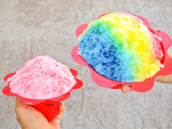 Gratitudes this week include our snow cone day at our apartment complex | Resident Appreciation Ideas.