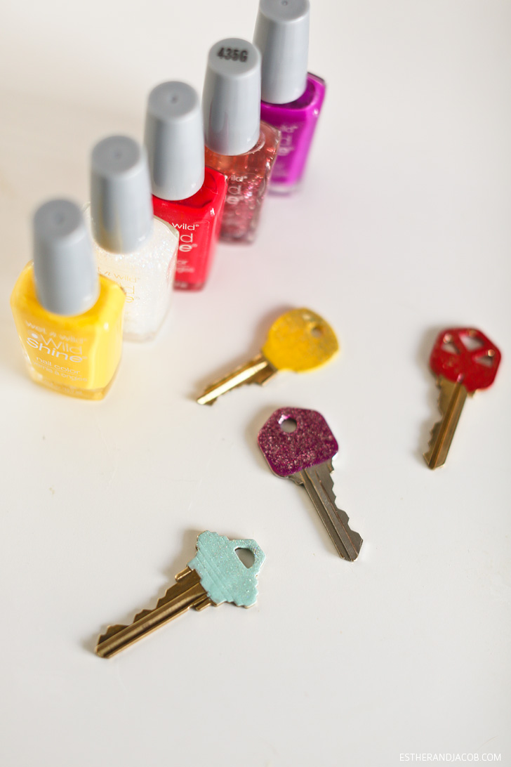Nail Polish Key Identification | Pinterest Projects & Setting Personal Goals for June.