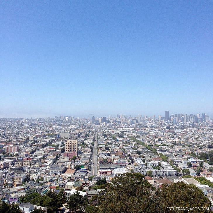 Bernal Hill San Francisco.