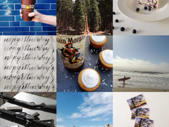 Recap of June on Instagram and Goal Setting in July with Weekly Wishes.