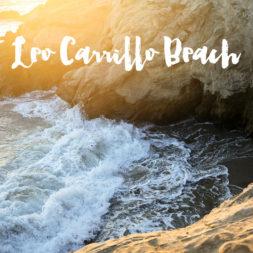 The Beautiful Leo Carrillo State Beach