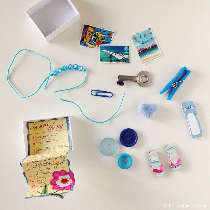 Lovely Letters Monthly Pen Pal Program Theme - Ocean Blue.
