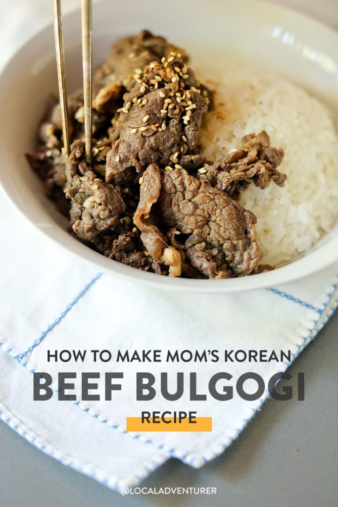 How to Make Mom's Authentic Korean Beef Bulgogi Recipe - It's so easy!