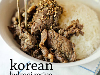 Mom's Korean Beef Bulgogi Recipe.