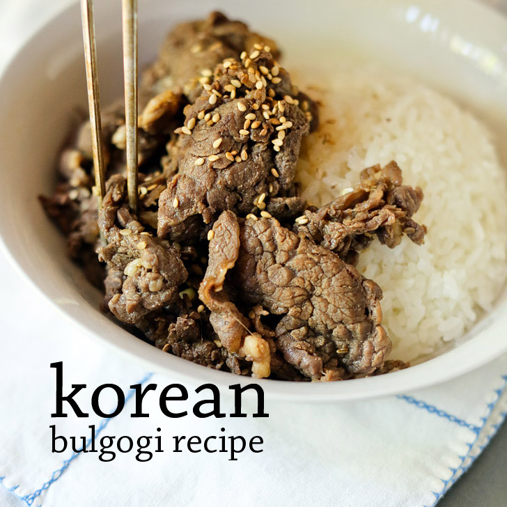 Mom's Korean Beef Bulgogi Recipe