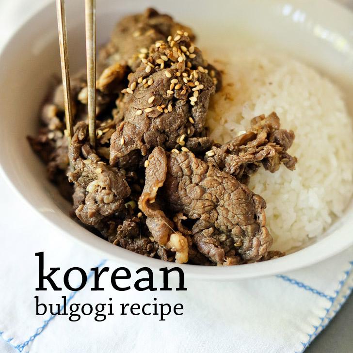 Mom's Korean Beef Bulgogi Recipe