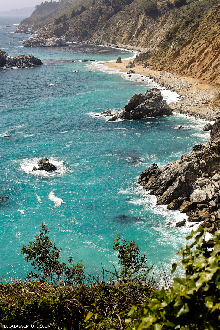 Mcway Falls Julia Pfeiffer Burns State Park Big Sur California USA // localadventurer.com