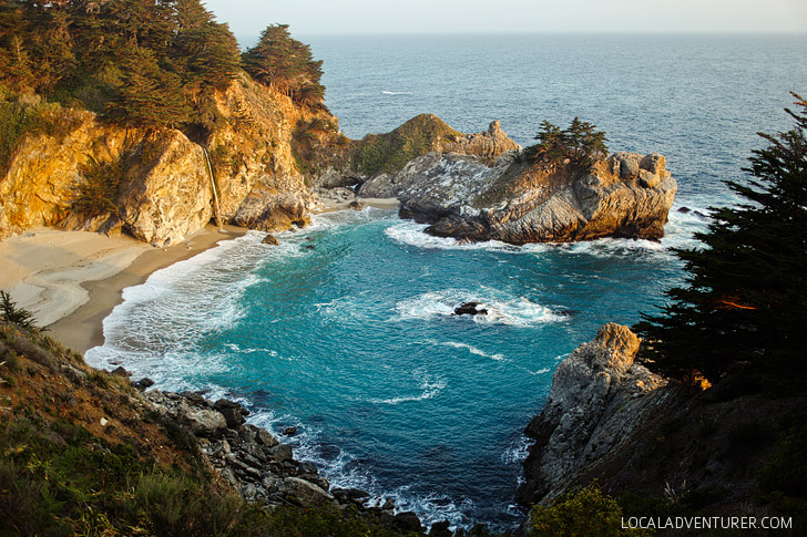 Julia Pfeiffer Burns State Park Mcway Falls Big Sur California USA // localadventurer.com