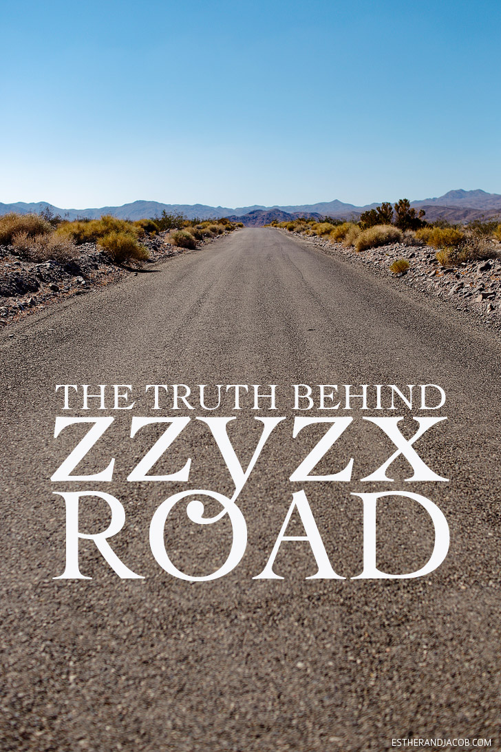 The Truth Behind Zzyzx Road California