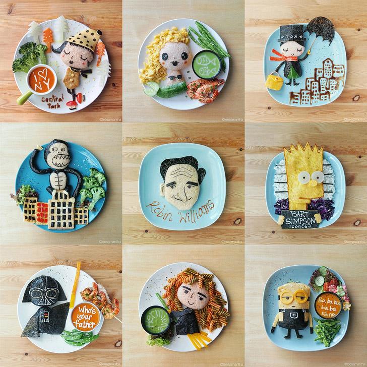 Leesamantha Food Art. | Best Food Art on Instagram.