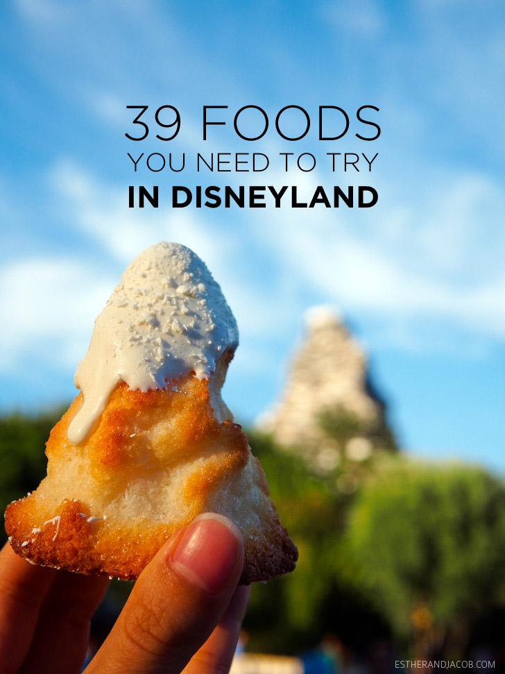 39 Best places to eat in disneyland | A Disney Food Bucket List.