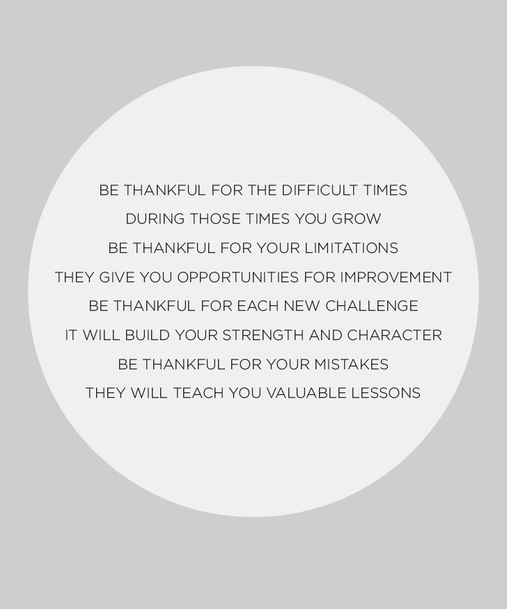 Uplifting Quotes on being thankful in hard times and life struggles.