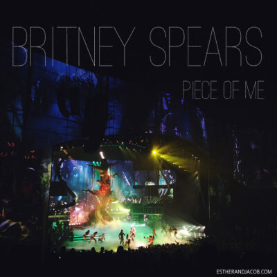 Britney Spears Piece of Me Las Vegas Show at Planet Hollywood.