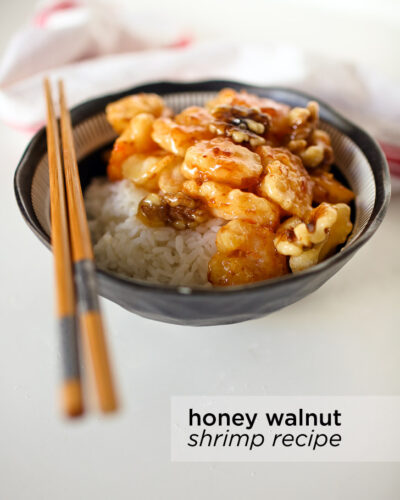 Easy Honey Walnut Shrimp Recipe.