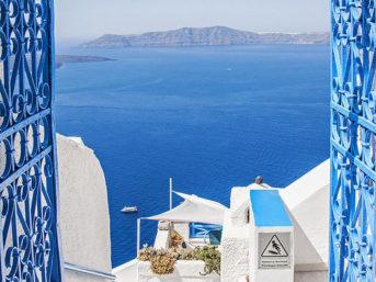 Treat Yo Self // Oia Santorini Greece.