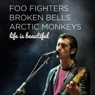 Arctic Monkeys Tour 2014 // Life is Beautiful Festival Las Vegas.