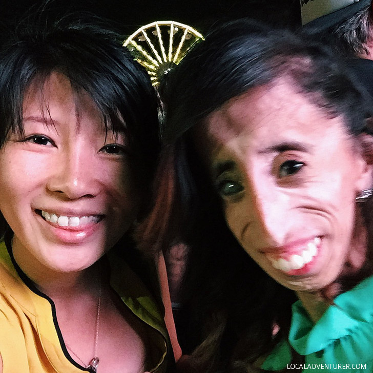 Lizzie Velasquez at the Life is Beautiful Festival 2014.