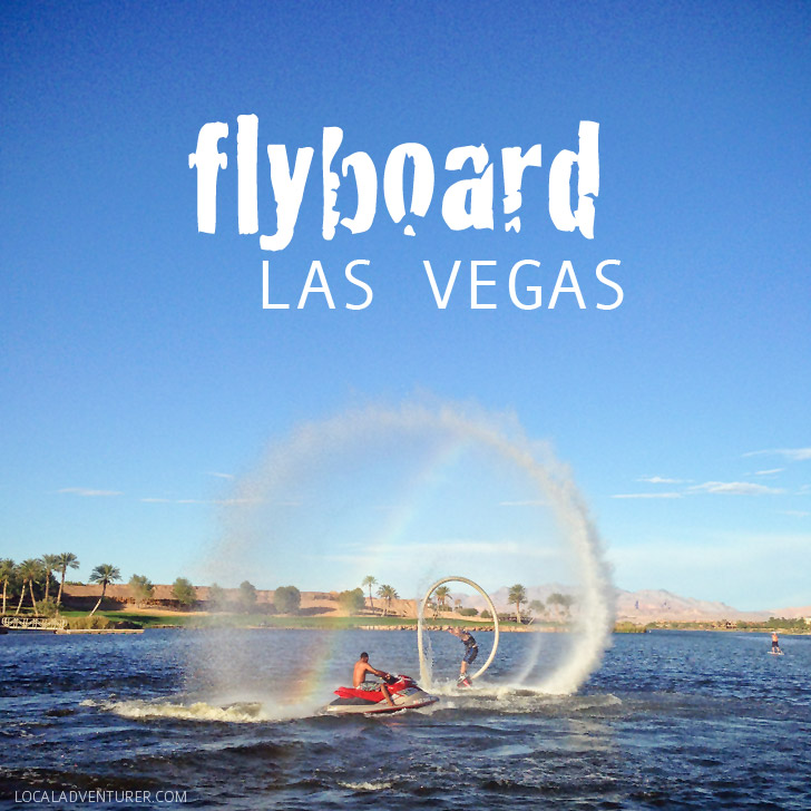 FlyBoard Las Vegas at Lake Las Vegas!