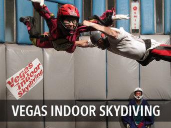 Las Vegas Indoor Skydiving // Fun Things to Do in Vegas.