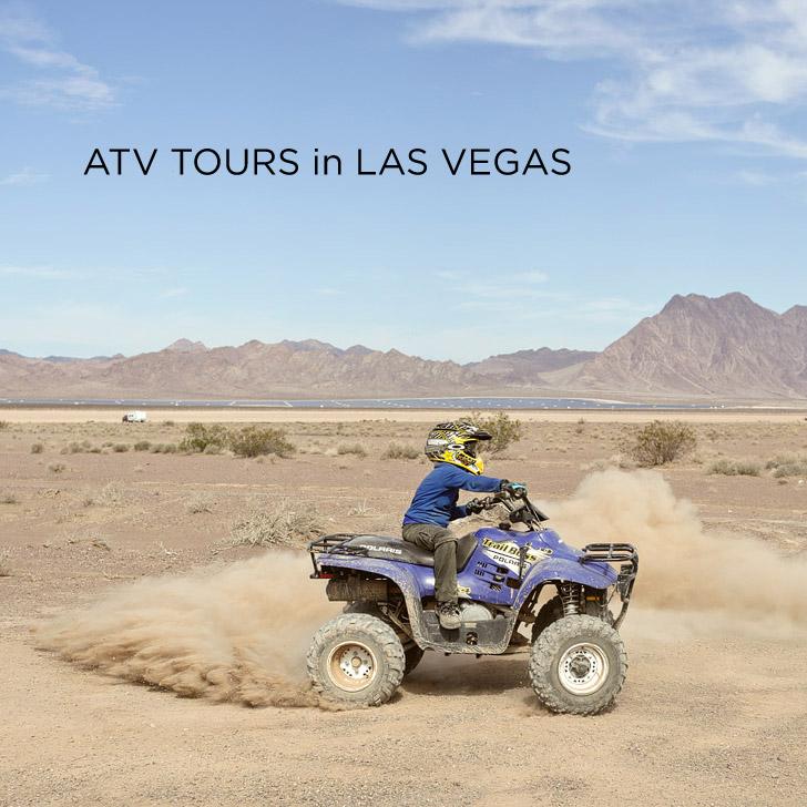 Thrilling ATV Tours with DeTour Vegas
