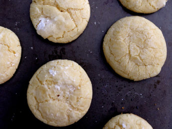 Award Winning Lemon Crinkle Cookies Recipe.