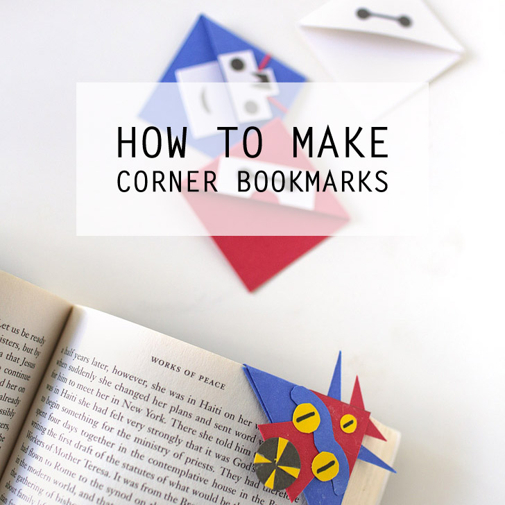 How to Make a Corner Bookmark DIY