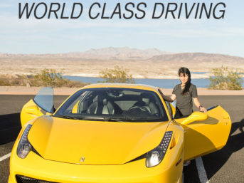 World Class Driving Las Vegas: Ferrari Test Drive.