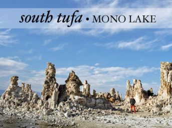 South Tufa Mono Lake California.