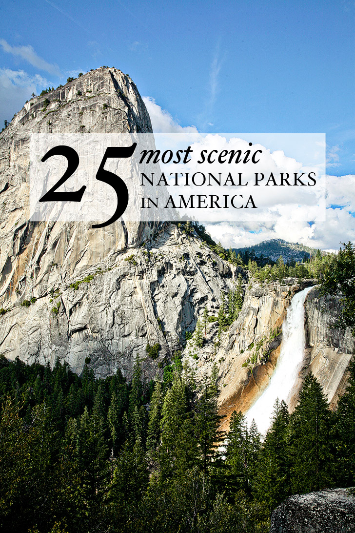25 Most Awesome Mirror And Metallic Nail Art Ideas: 25 Most Scenic National Parks In America