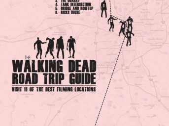 11 Best Walking Dead Locations (A Self Guided Walking Dead Road Trip).