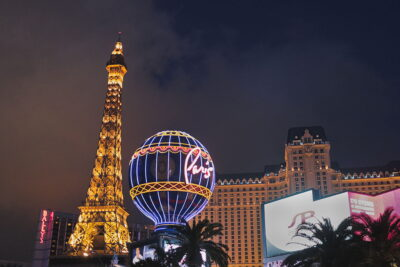 Go Up in the Eiffel Tower of Paris Hotel and Casino + 15 Romantic Things to Do in Las Vegas for Couples