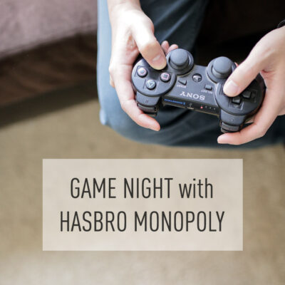 Couples Game Night with Hasbro Game Channel.
