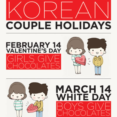Korean Holidays for Couples.