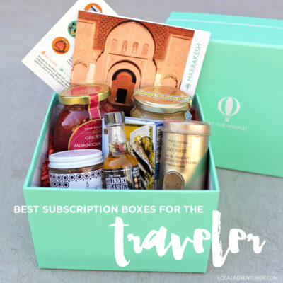 Best Subscription Boxes for the Traveler.