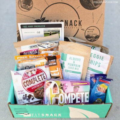 Healthy Road Trip Snacks with Fit Snack.