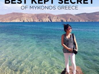 Best Kept Secret of Mykonos Greece - Agios Sostice Mykonos Beach.