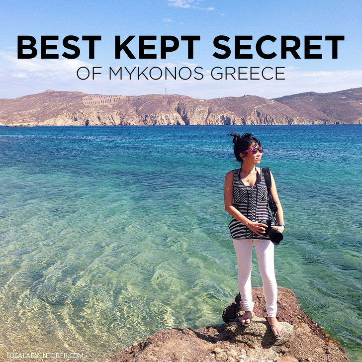 Best Kept Secret of Mykonos Greece - Agios Sostice Mykonos Beach.