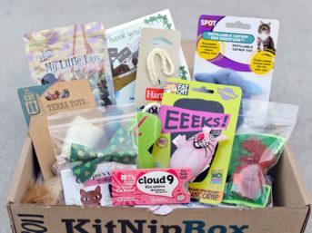 KitNipBox - A Monthly Box of Cat Goodies