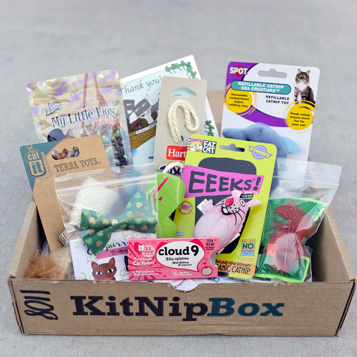 KitNipBox Review – A Cat Subscription Box for Cat Lovers